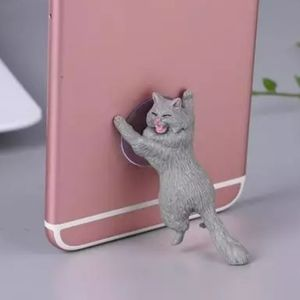 3 for $15 Grey Cat Phone Holder